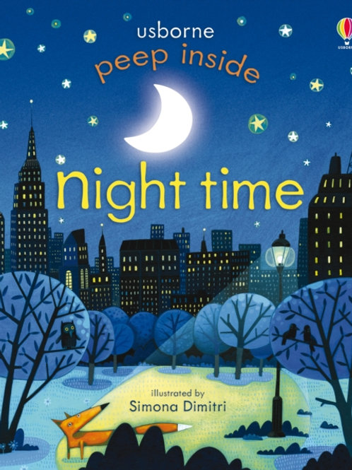 Anna Milbourne - Peep Inside Night-Time (AGE 3+) (HARDBACK)