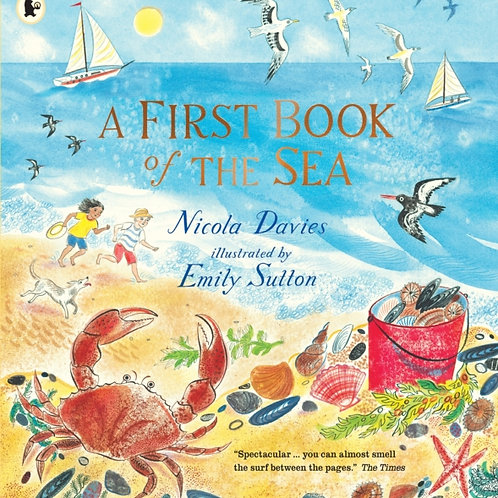 Nicola Davies and Emily Sutton - The First Book Of The Sea (AGE 3+)