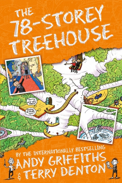Andy Griffiths  - The 78-Storey Treehouse (AGE 7+) (6th In Series)