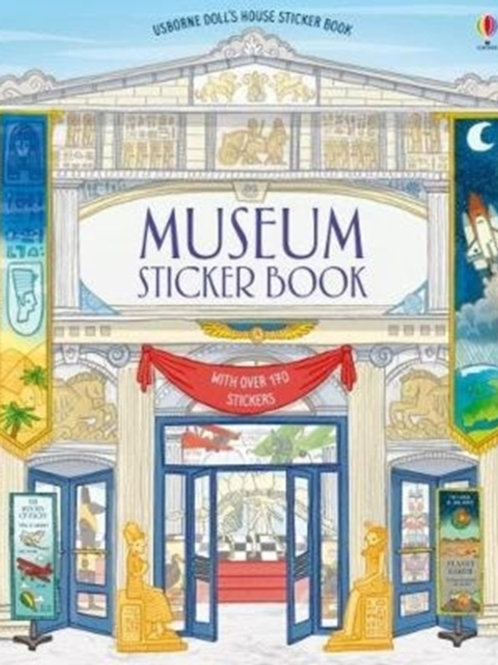 Struan Reid - Museum Sticker Book (AGE 5+)