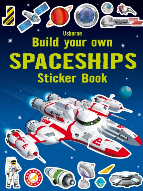Simon Tudhope - Build Your Own Spaceships Sticker Book (AGE 5+)