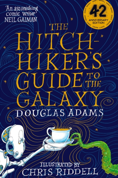 Douglas Adams - The Hitchhiker's Guide To The Galaxy Illustrated Edition