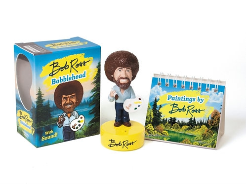 Bob Ross Bobblehead : With Sound!