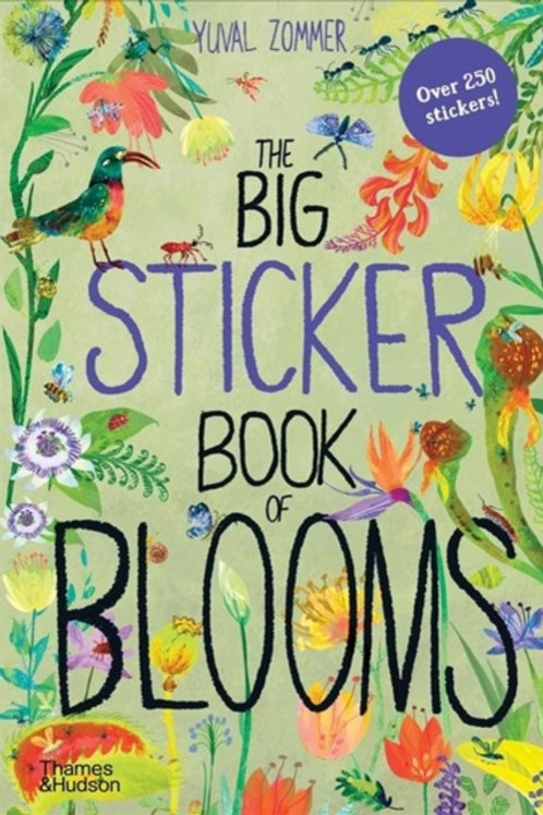 Yuval Zommer - The Big Sticker Book Of Blooms (AGE 5+)