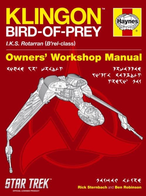 Klingon Bird-Of-Prey Manual (HARDBACK)