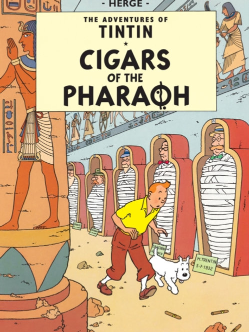 Herge - Cigars Of The Pharaoh (Adventures Of Tintin) (AGE 8+)