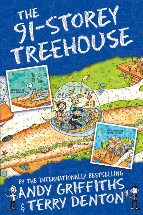 Andy Griffiths - The 91-Storey Treehouse (AGE 7+) (7th In Series)