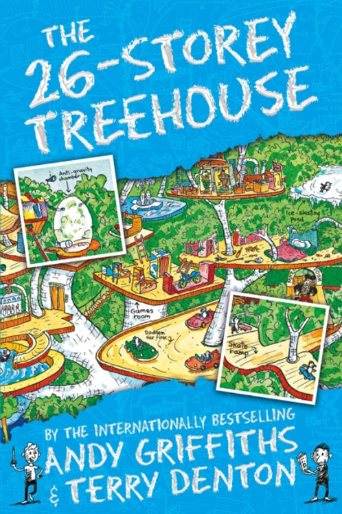 Andy Griffiths  - The 26-Storey Treehouse (AGE 7+) (2nd In Series)