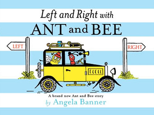Angela Banner - Left And Right With Ant And Bee (AGE 3+) (HARDBACK)