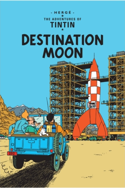 Herge - Tintin: Destination Moon (Age 8+) (1st in Series)