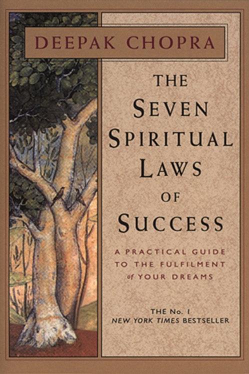 Deepak Chopra - The Seven Spiritual Laws Of Success (HARDBACK)