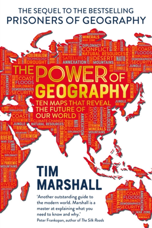 Tim Marshall - The Power Of Geography (SIGNED COPY) (HARDBACK)