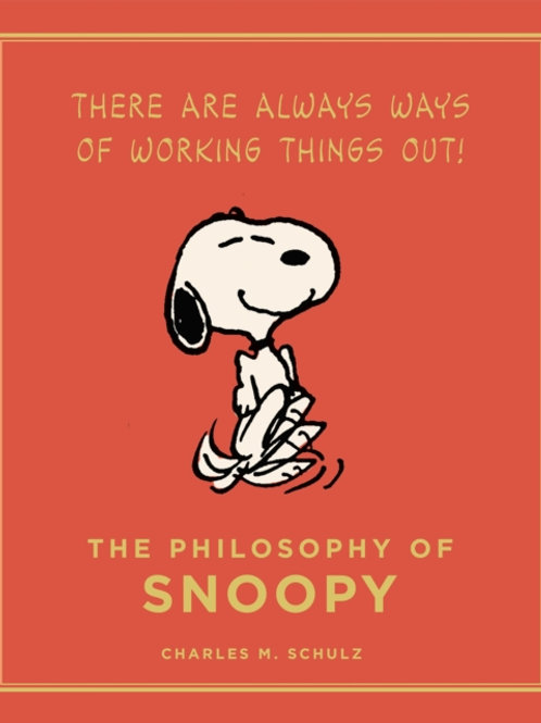 Charles M. Schulz - The Philosophy Of Snoopy (HARDBACK)