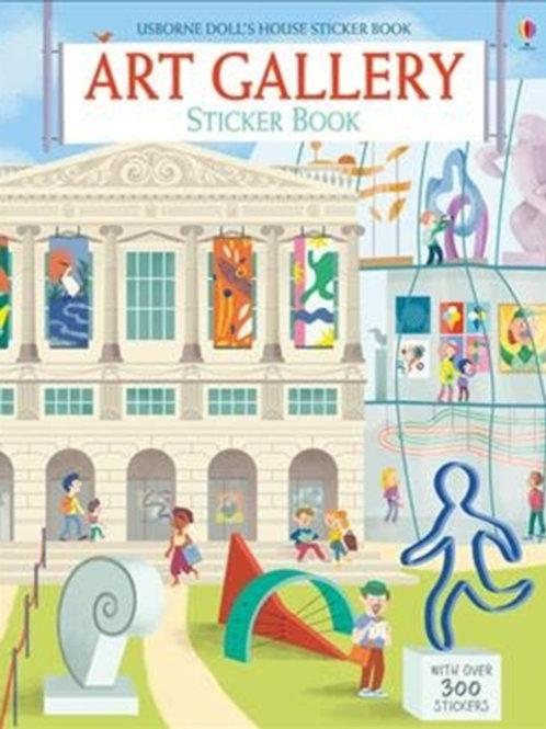Abigail Wheatley - Art Gallery Sticker Book (AGE 5+)