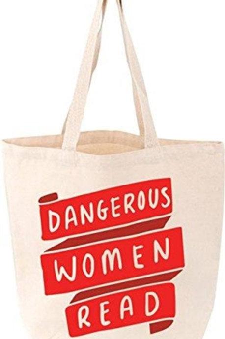 Dangerous Women Read Tote Bag