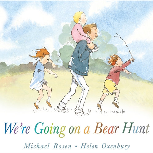 Michael Rosen and Helen Oxenbury - We're Going On A Bear Hunt (AGE 2+ HARDBACK)