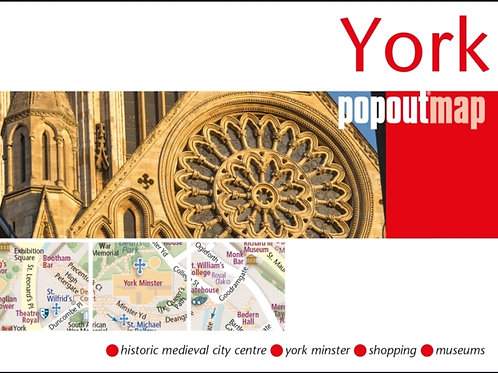 York Pop Out Map
