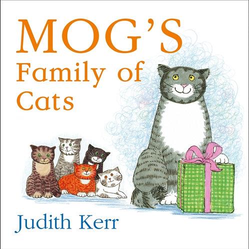 Judith Kerr - Mog's Family Of Cats (AGE 1 +) (HARDBACK)