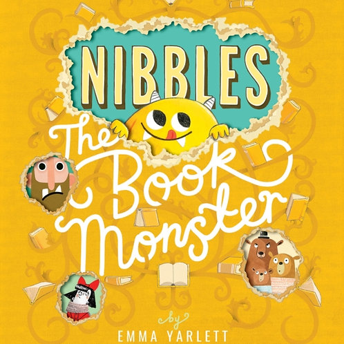 Emma Yarlett - Nibbles The Book Monster (AGE 3+)