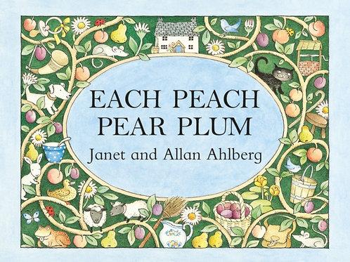 Janet And Allan Ahlberg - Each Peach Pear Plum (AGE 0+) (HARDBACK)