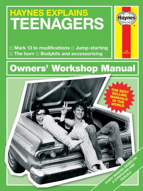 Boris Starling - Teenagers : Haynes Explains (HARDBACK)
