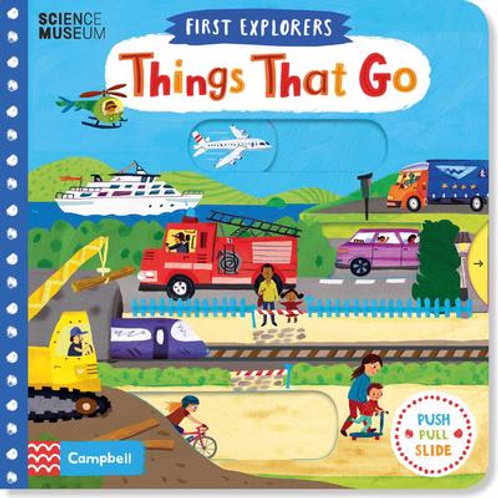 First Explorers: Things That Go (AGE 0-3) (HARDBACK)