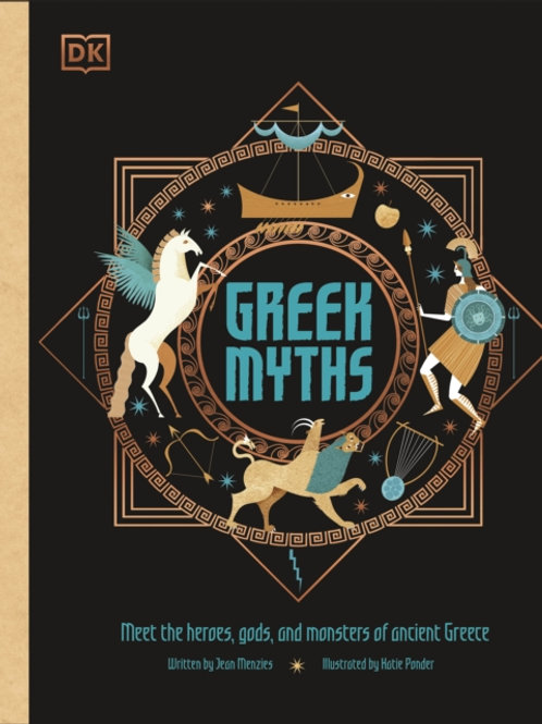 Jean Menzies - Greek Myths (AGE 8+) (HARDBACK)