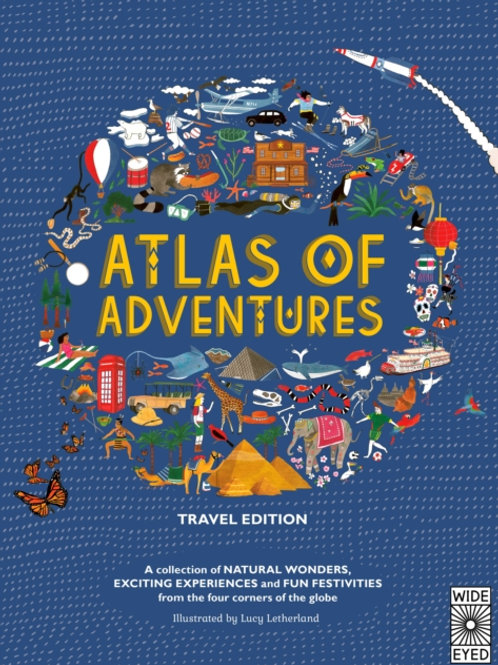 Lucy Letherland - Atlas of Adventures: Travel Edition (AGE 7+) (HARDBACK)