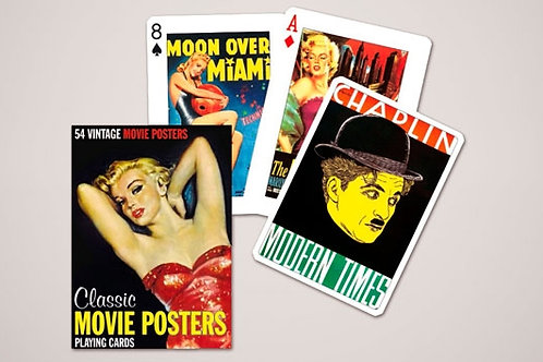 Classic Movie Posters Playing Cards