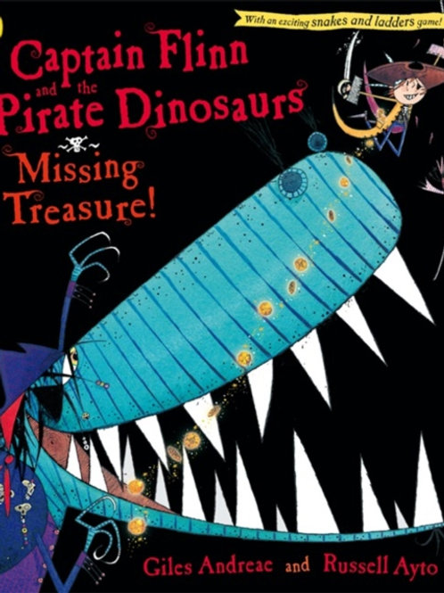 Giles Andreae -Captain Flinn And The Pirate Dinosaurs: Missing Treasure (AGE 3+)