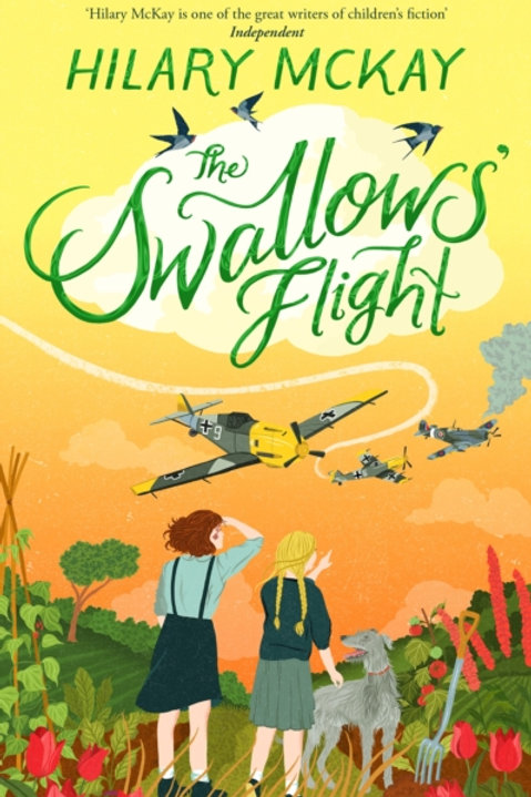 Hilary McKay - The Swallows' Flight (SIGNED COPY) (AGE 9+) (HARDBACK)