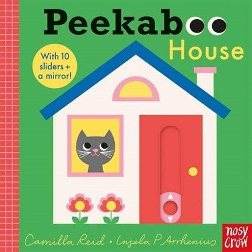Camilla Reid - Peekaboo House (AGE 0+) (HARDBACK)