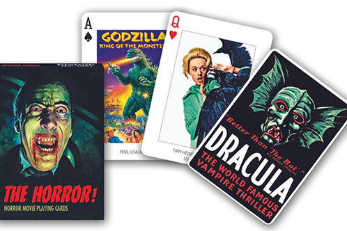 Horror Playing Cards