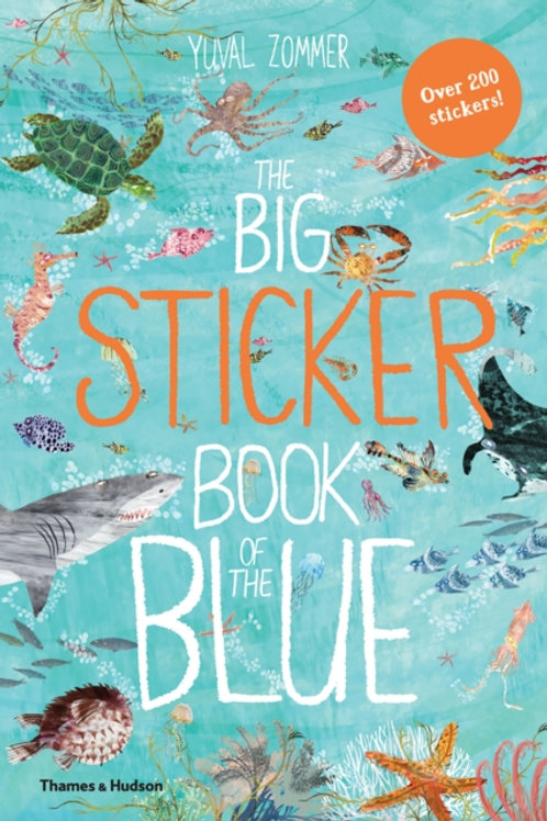 Yuval Zommer - The Big Sticker Book Of The Blue (AGE 5+)