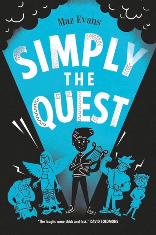 Maz Evans - Simply The Quest (AGE 9+) (2nd In Series)