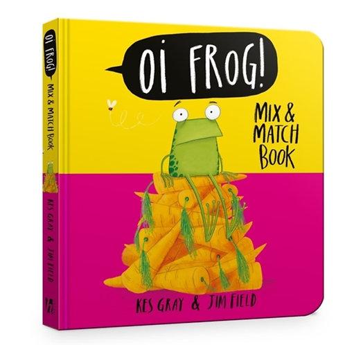 Kes Gray - Oi Frog! Mix & Match Book (AGE 3+) (HARDBACK)