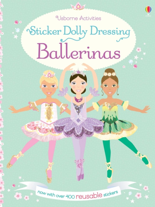 Fiona Watt - Sticker Dolly Dressing Ballerinas (AGE 5+)