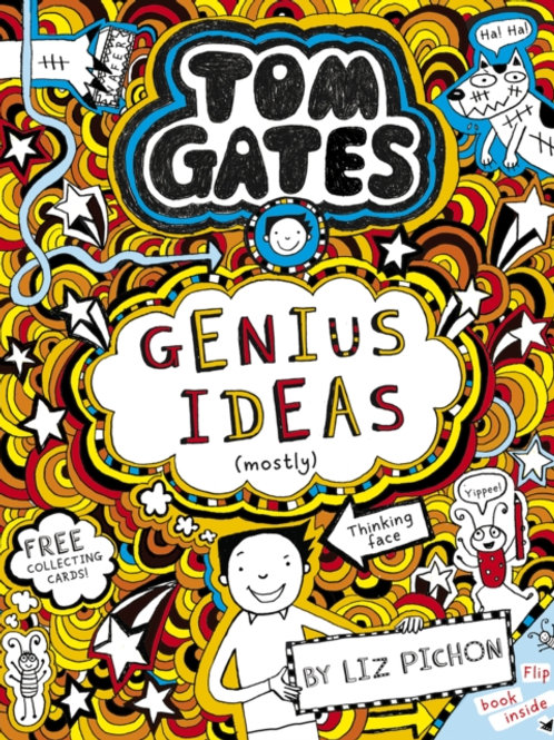 Liz Pichon - Tom Gates: Genius Ideas (Mostly) (AGE 9+) (4th In Series)