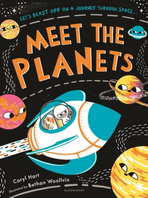 Caryl Hart - Meet The Planets (AGE 5+)