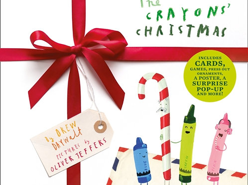 Oliver Jeffers and Drew Daywalt - The Crayons' Christmas (AGE 3+) (HARDBACK)
