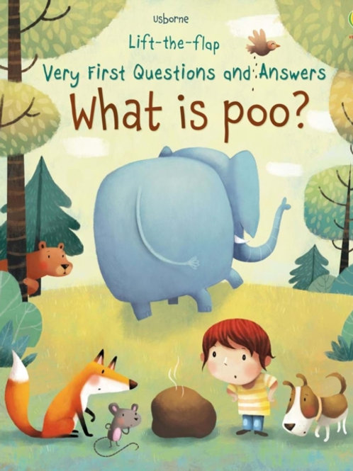 Lift-The-Flap What Is Poo? (AGE 3+) (HARDBACK)