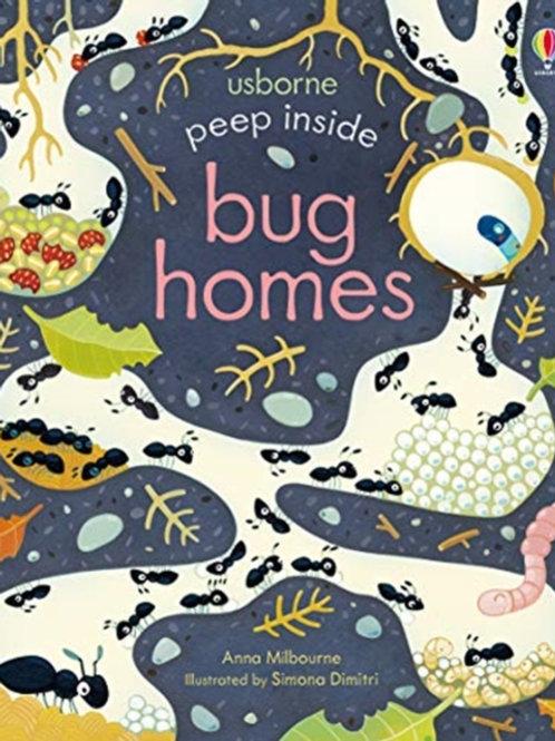 Anna Milbourne - Peep Inside Bug Homes (AGE 3+) (HARDBACK)