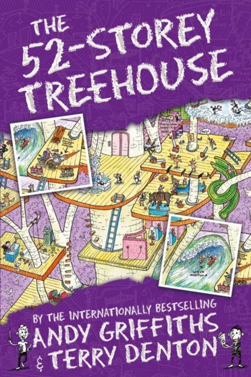 Andy Griffiths  - The 52-Storey Treehouse (AGE 7+) (4th In Series)