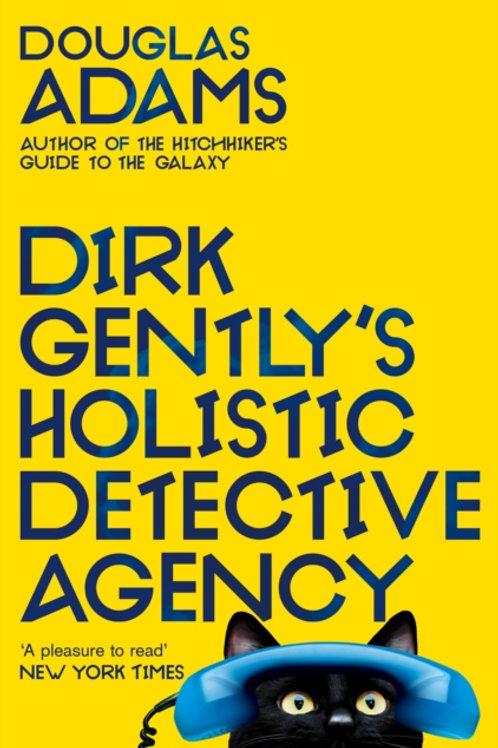 Douglas Adams - Dirk Gently's Holistic Detective Agency (1st In Series)