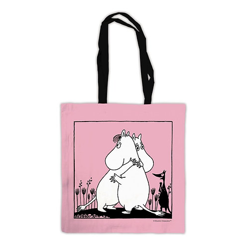 Moomin Tote Bag - Hugging