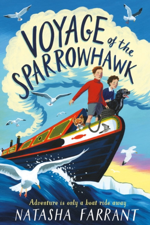 Natasha Farrant - Voyage Of The Sparrowhawk (SIGNED BOOKPLATE EDITION) (AGE 9+)