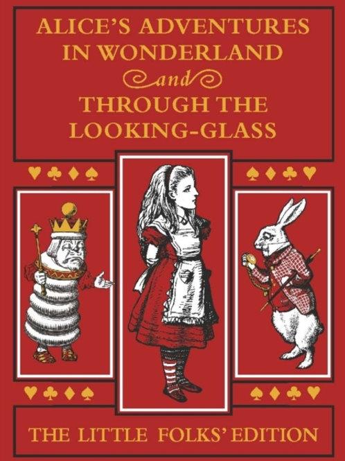Lewis Carroll - Alice's Adventures in Wonderland/Looking. .  (AGE 6+) (HARDBACK)