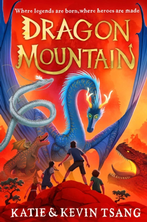 Katie and Kevin Tsang - Dragon Mountain (AGE 9+) (1st In Series)