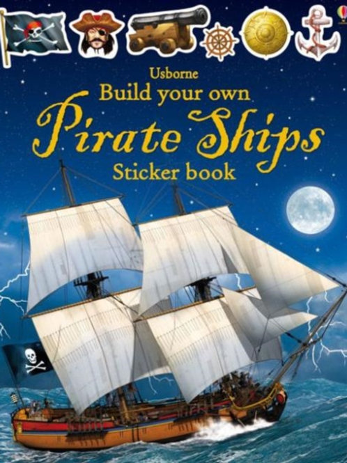 Simon Tudhope - Build Your Own Pirate Ships Sticker Book (AGE 5+)