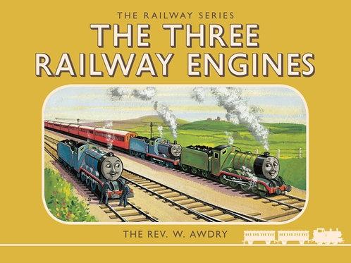Rev.Wilbert Vere Awdry  - The Three Railway Engines (AGE 4+) (HARDBACK)